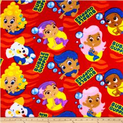 Bubble Guppies Fleece Red