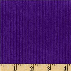Wide Wale Corduroy Purple