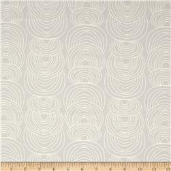 Cloud 9 Organic Rain Walk Ripple Canvas Gray