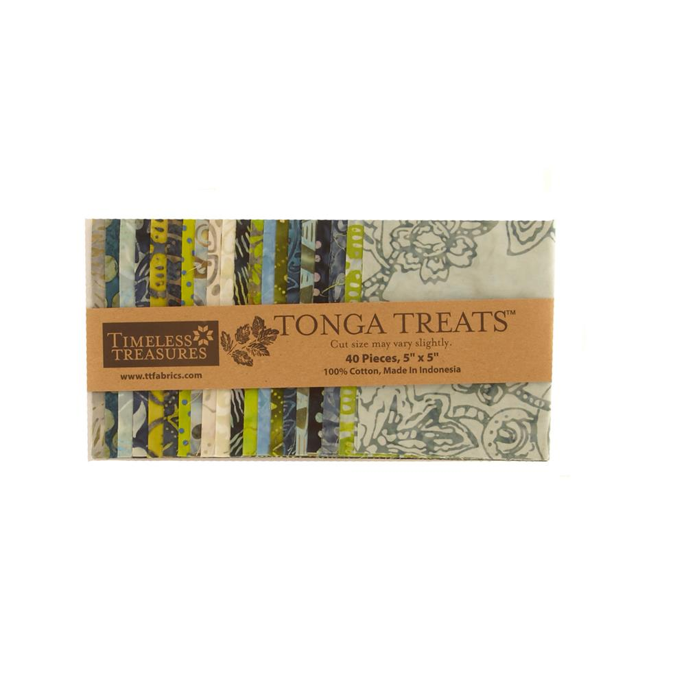 Timeless Treasures Tonga Treats Bluegrass 5 In. Mini