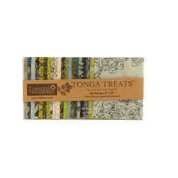 Timeless Treasures Tonga Treats Bluegrass 5 In. Mini Squares