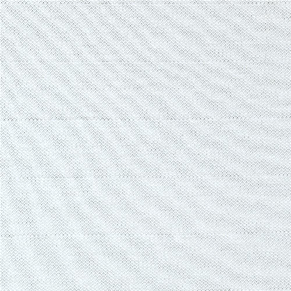 Polyester Pique Knit White