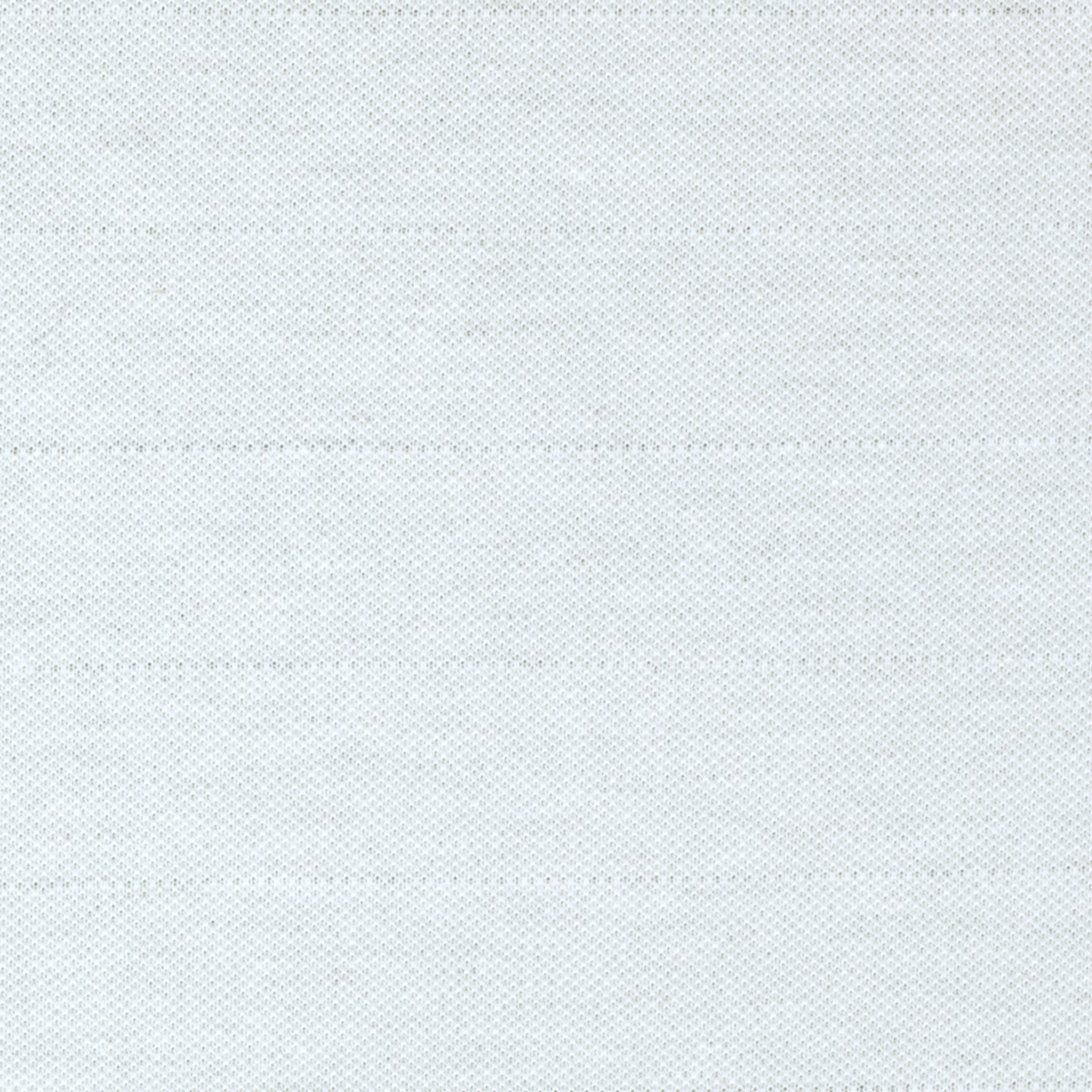 Polyester Pique Knit White Fabric