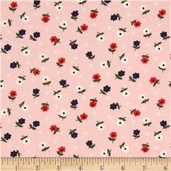 Cotton & Steel Cookie Book Mini Flowers Pink