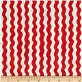 Sew Fun! Ric Rac Stripe Red