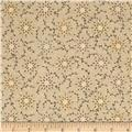 "108"" Wide Quilt Backing Prairie Vine Tan"