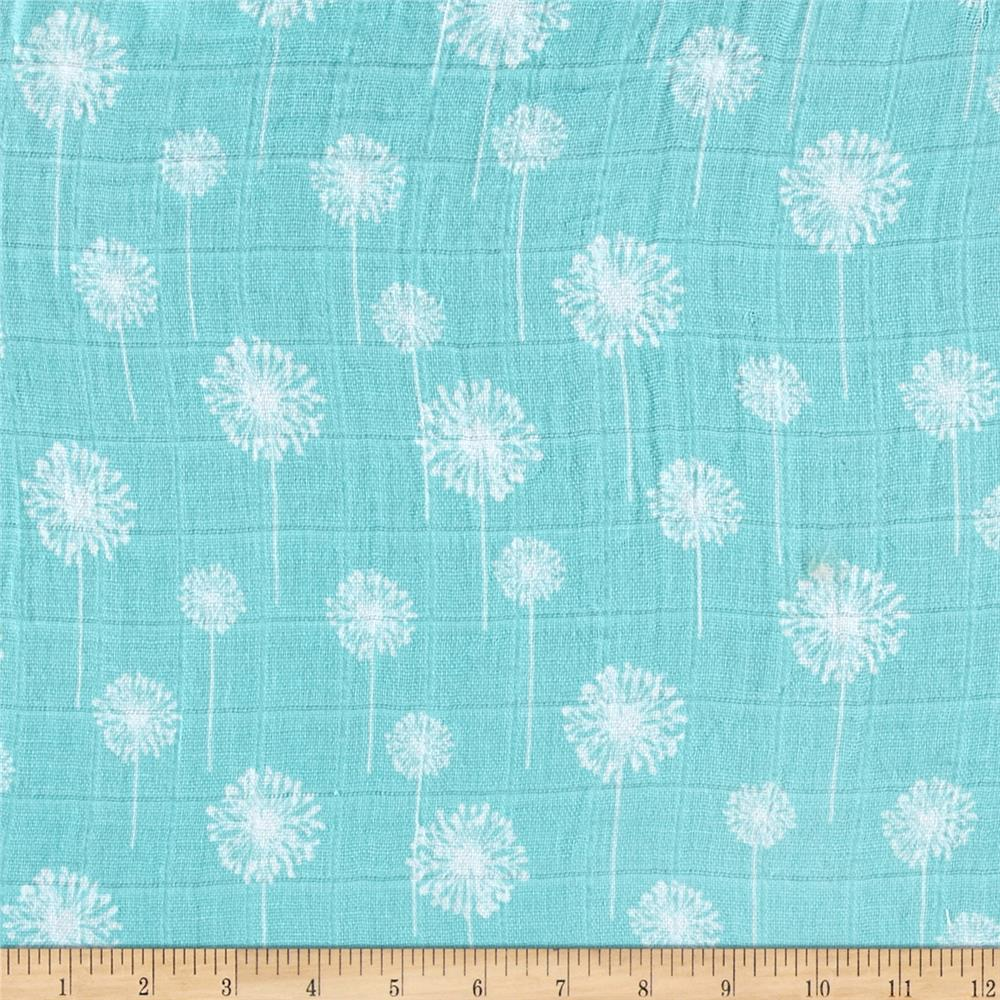 Shannon premier prints embrace double gauze dandelion for Where to order fabric