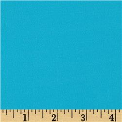 Activewear Nylon Knit Solid Turquoise