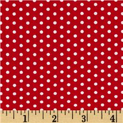 Spot On Pindot Red