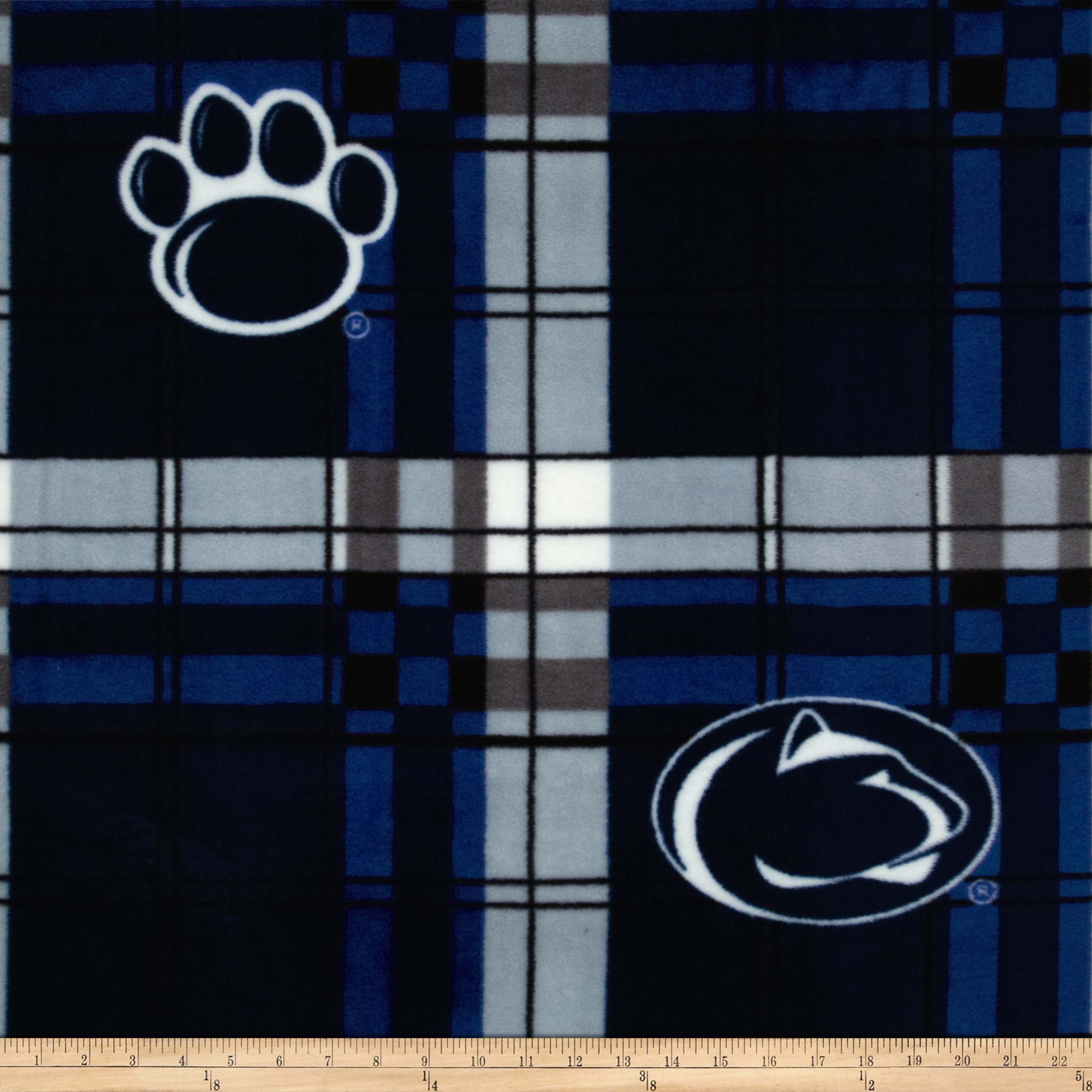 Collegiate Fleece Pennsylvania State University Fleece Plaid Camo