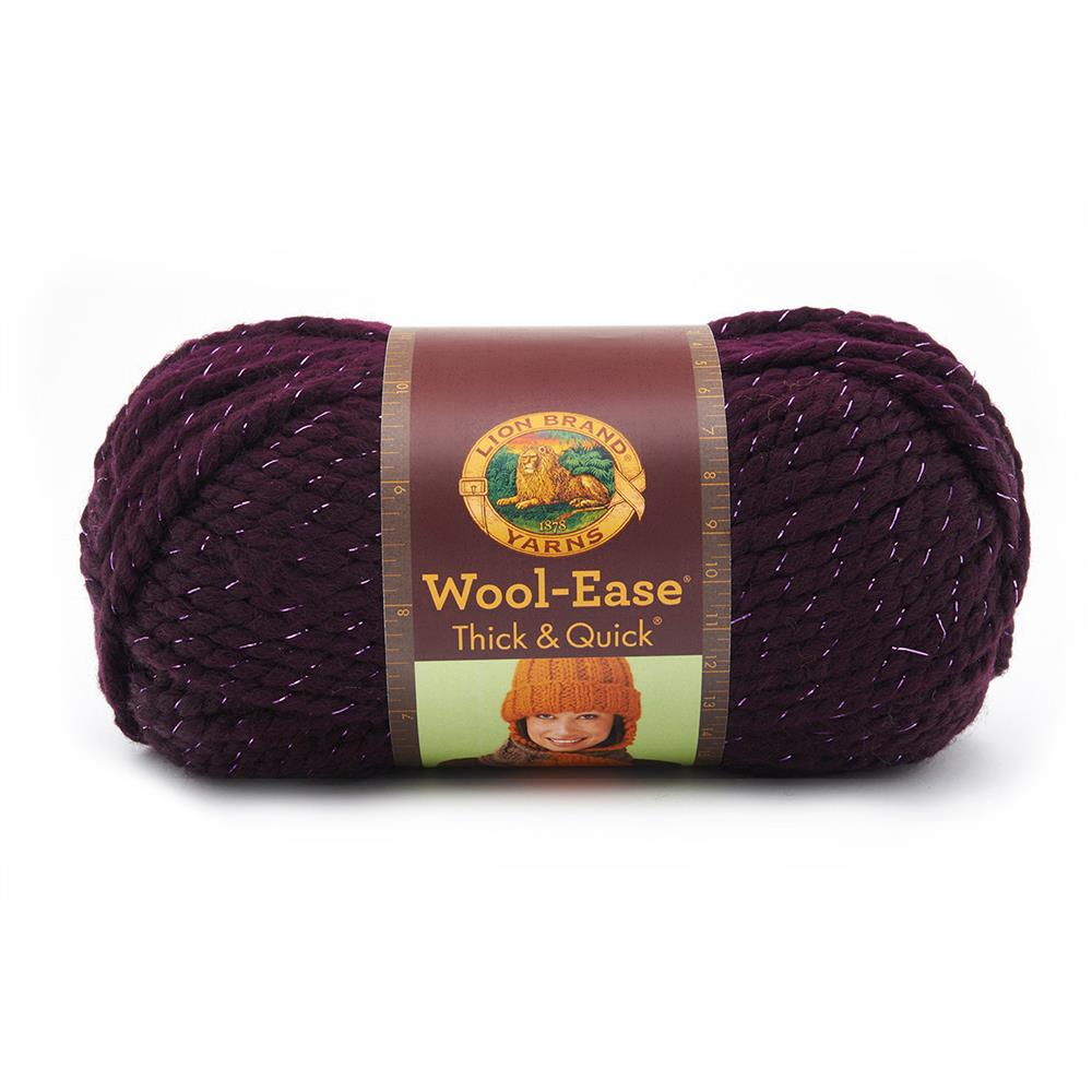 Lion Brand Wool-Ease Thick & Quick Yarn (305) Galaxy