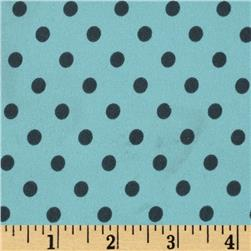 Michael Miller PUL (Polyurethane Laminate) Dumb Dot Sea