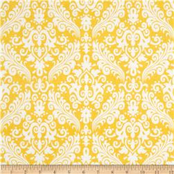 Riley Blake Medium Damask Yellow Fabric
