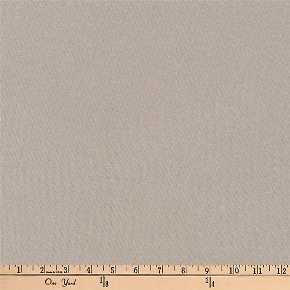 Kaufman Dana Cotton/Modal Jersey Knit 4.8 oz Ash Grey