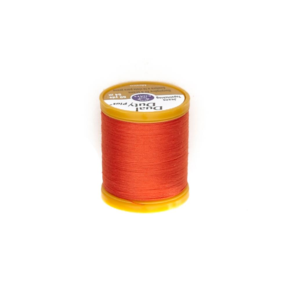 Dual Duty Plus Jeans & Topstitching Thread 60 YD Tango