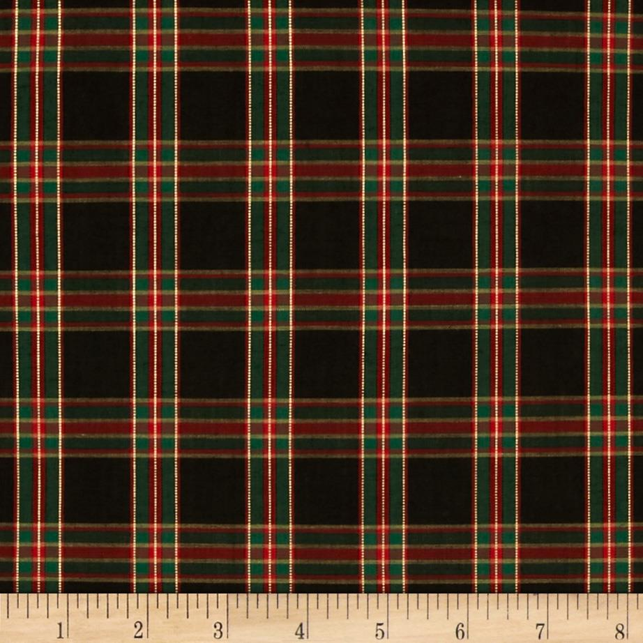 Imperial Tartan Golden Anniversary Plaid Black/Green
