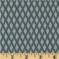 Pearle Silver Opalescent Ikat Pewter