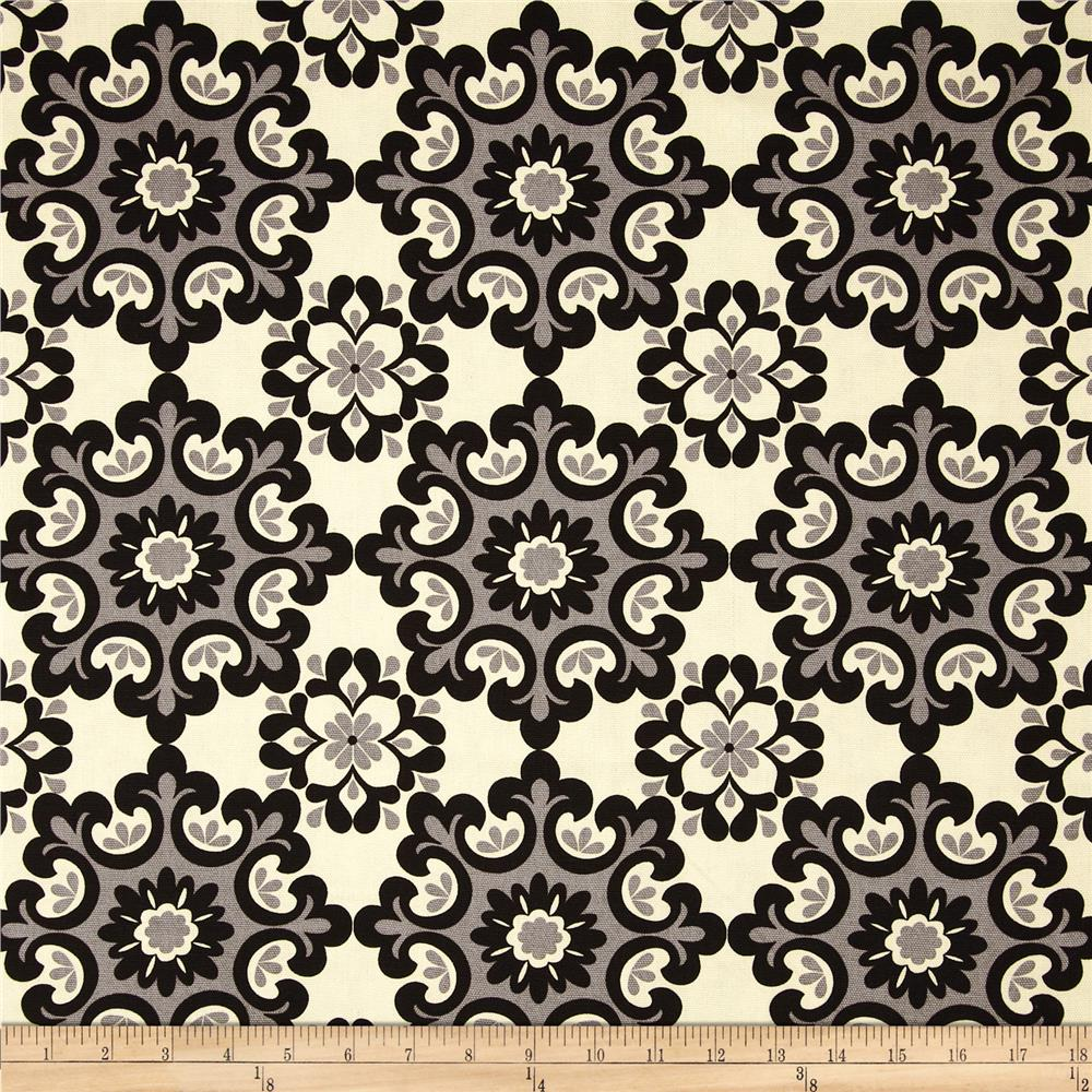 Riley Blake Home Décor Ornate Damask Black