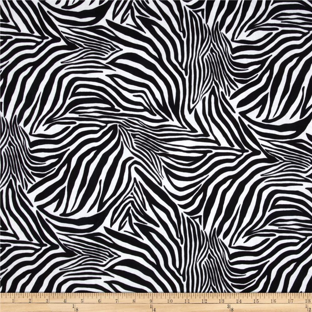 Safari Zebra Black