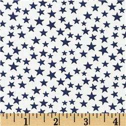 Made in the USA Stars Navy/White