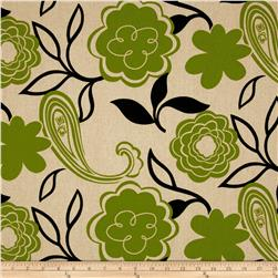 Madison Home Decor Lisabeth Floral Tan/Green