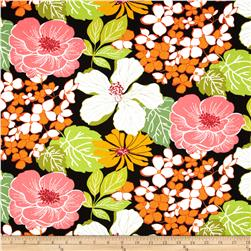 Gramercy Large Floral Black/Multi Fabric