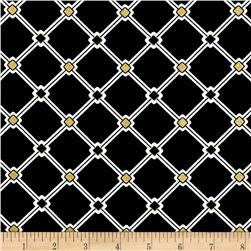 Nightfall Metallic Lattice Black