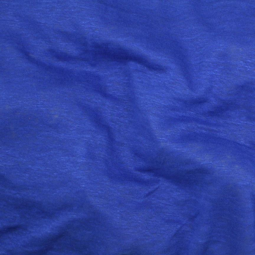 Capri Linen Jersey Knit Royal