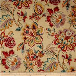Waverly Sri Lankan Rose Sateen Marsala