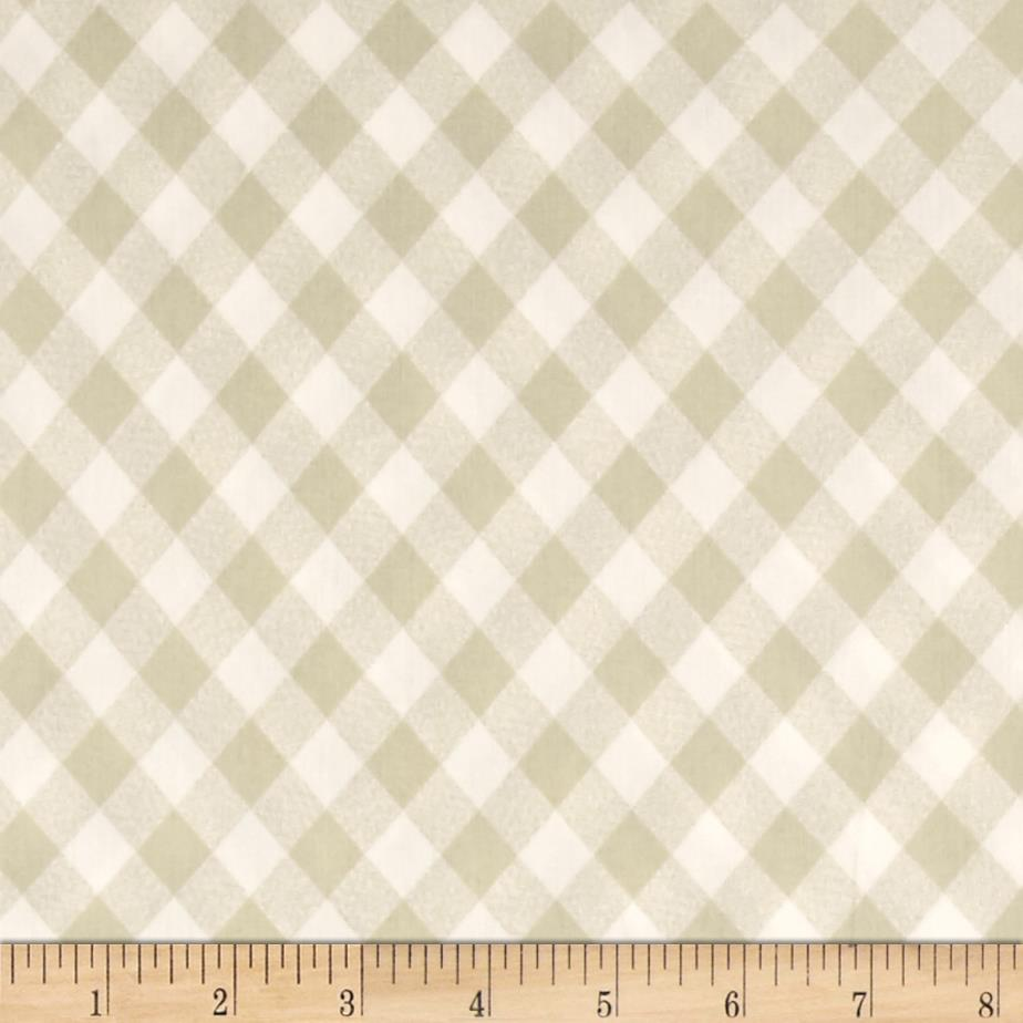 "Moda 108"" Wide Quilt Backing Check Gray"