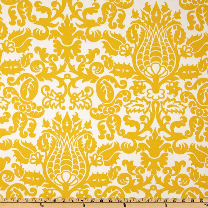 Premier Prints Amsterdam Twill Corn Yellow