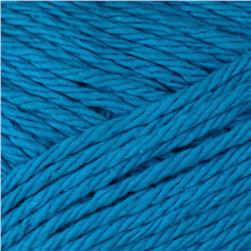 Peaches & Creme Solid Yarn (01742) Bright Blue