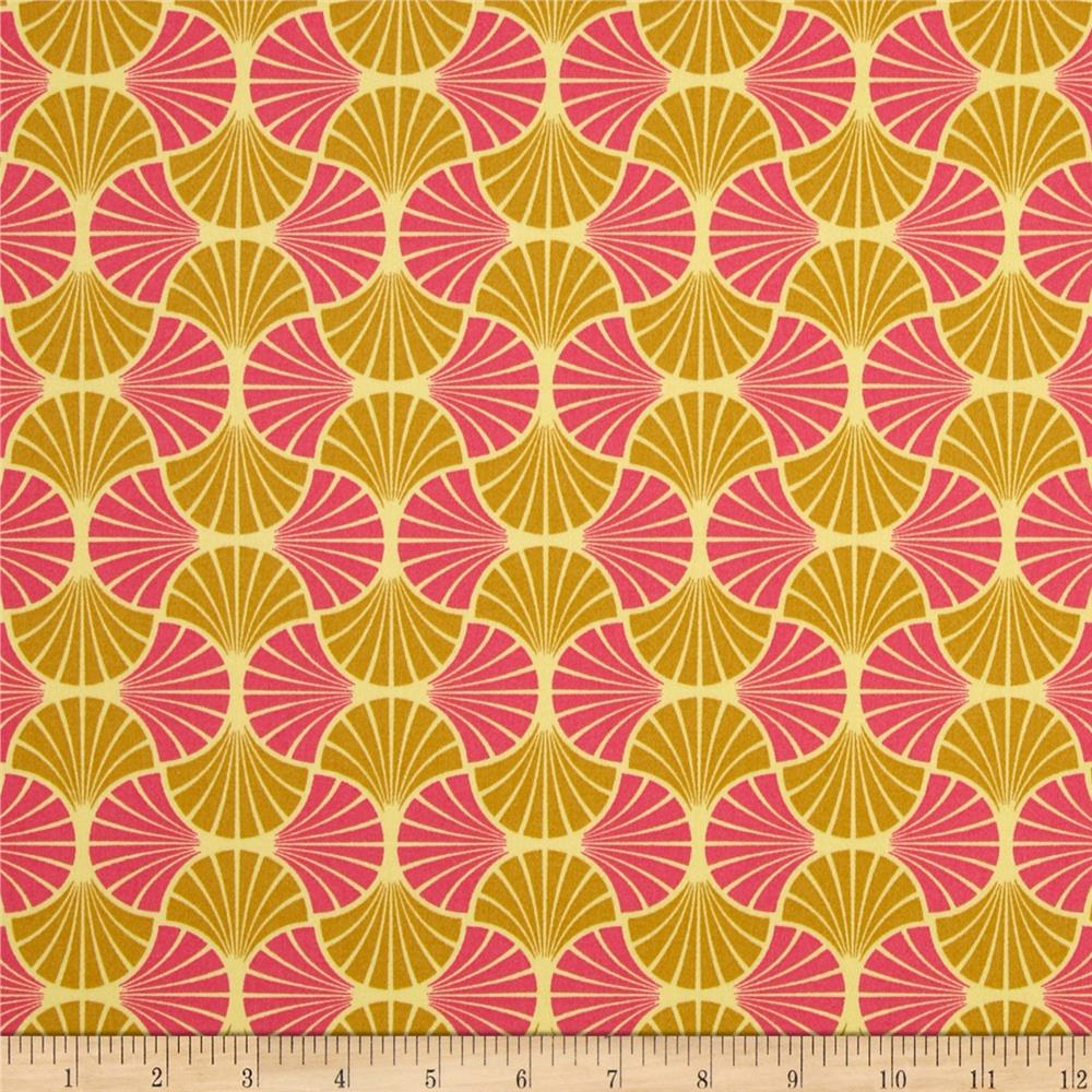 Joel Dewberry Home Decor Sateen Empire Weave Blush