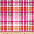 Mad For Plaid Flannel Pink/Orange