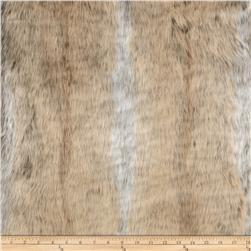 Luxury Faux Fur Beige/Grey