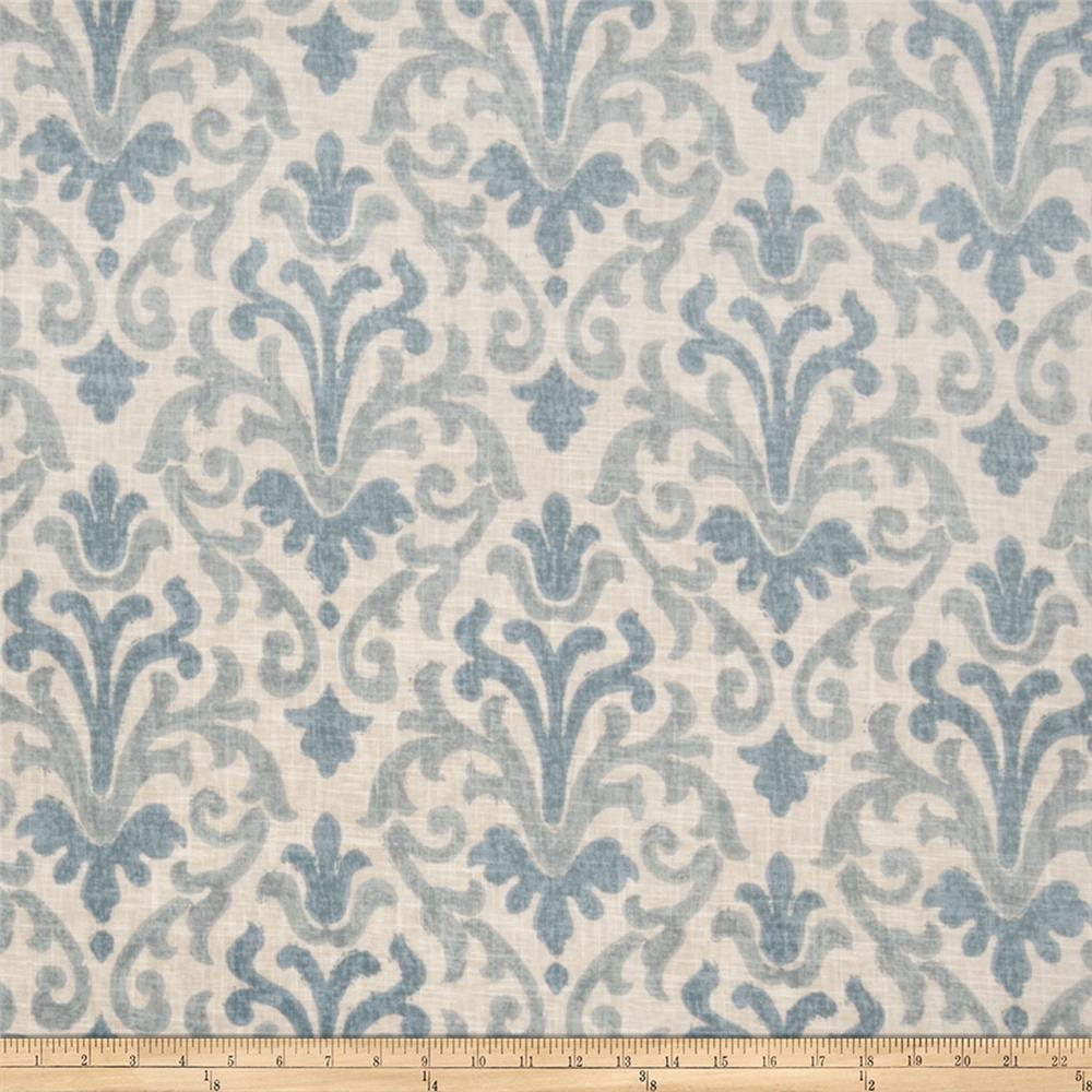 Jaclyn Smith 02098 Linen Blend Lagoon