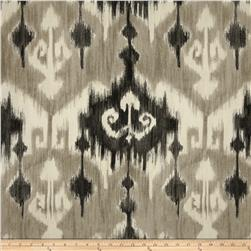 Richloom Ikat Marlena Graphite Home Decor Fabric