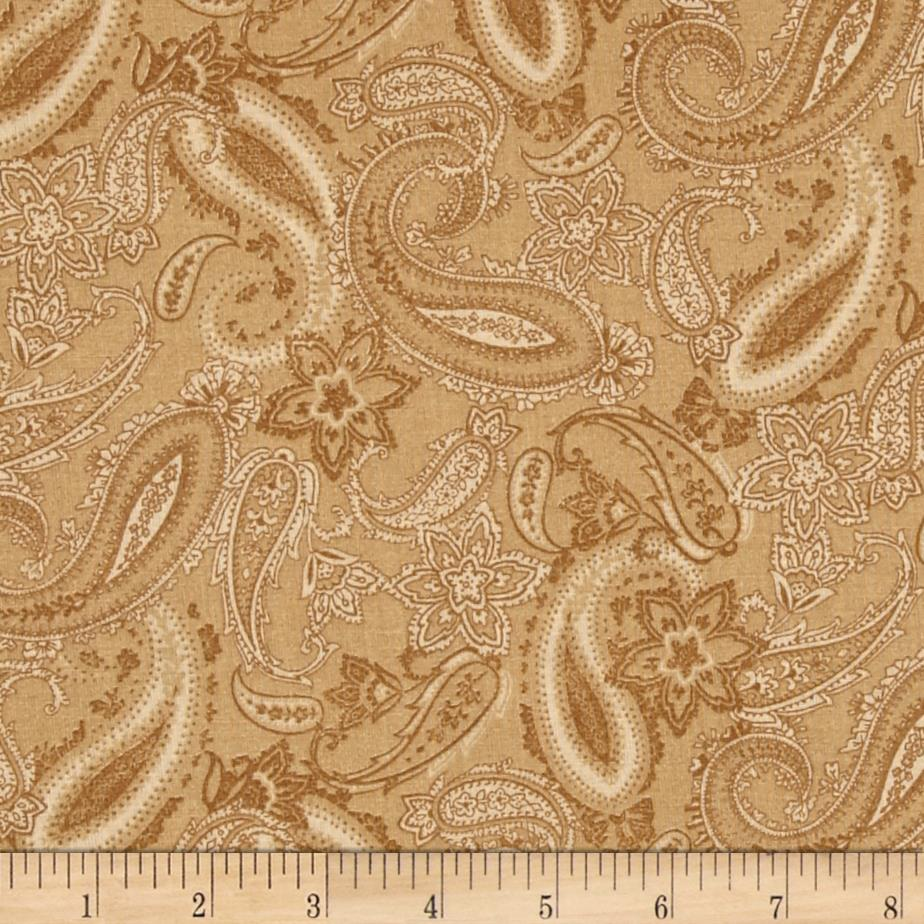 Paisley Brown/Tan