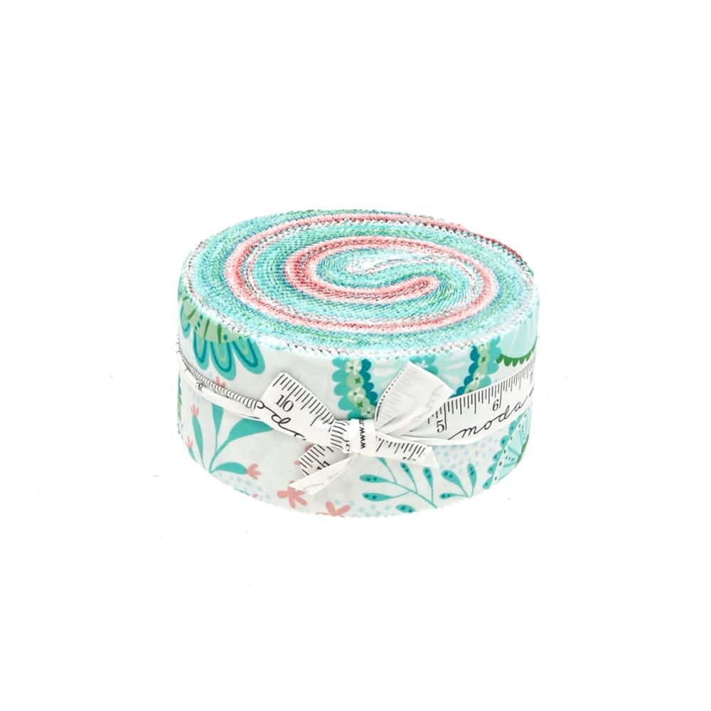 "Moda Coral Queen Of The Sea 2.5"" Jelly Roll"