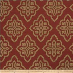 Jaclyn Smith 02601 Chenille Jacquard Scarlet