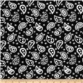 Sweet Tweets Paisley Black
