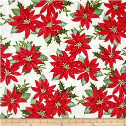 Winter Lodge Poinsettia Red