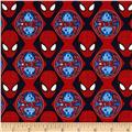Marvel Ultimate Spiderman Spider-Man Heads Red