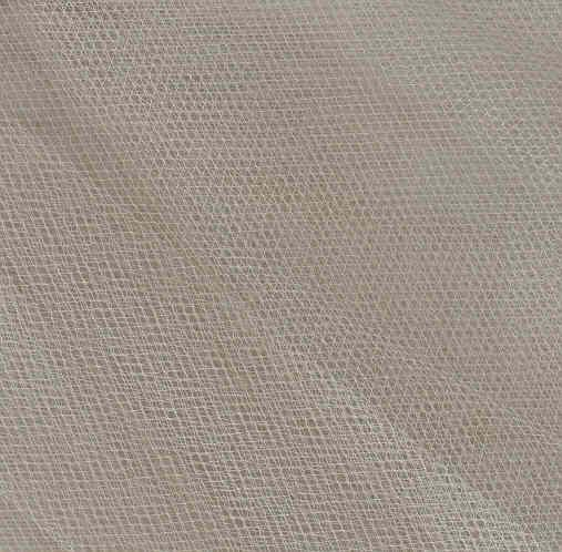 """108"""" Wide Tulle Glimmer Ivory"""
