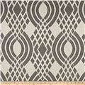Parisian Lyon Basketweave Jacquard Geometric Grey