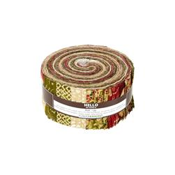 Robert Kaufman Holiday Flourish Country 2.5 In. Jelly Roll Multi