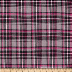 Windstar Flannel Plaid Pink/Grey
