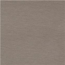 Lightweight Stretch Rayon Jersey Knit Timberwolf Grey