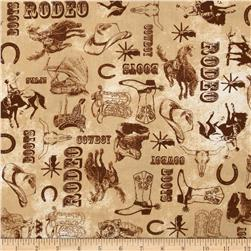 Ironwood Ranch Toile Tan