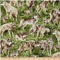 American Wildlife Wolves Multi